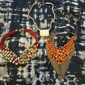 Jewelry - Chunky necklace haul